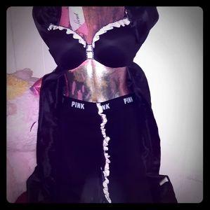 New Pink Victoria's Secret 2pc Size SW & 36B